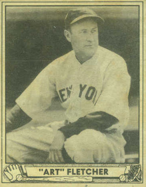 "1940 Play Ball ""Art"" Fletcher #125 Baseball Card"