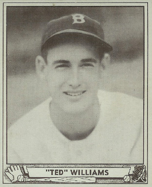 1940 Play Ball Ted Williams #27 Baseball Card