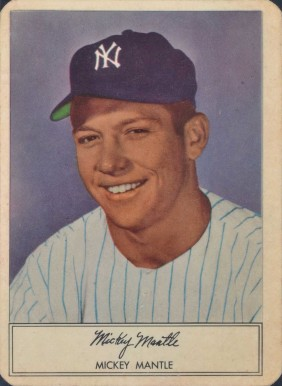 1953 Stahl-Meyer Franks Mickey Mantle #6 Baseball Card