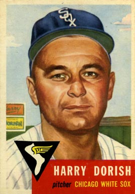 1953 Topps Harry Dorish #145 Baseball Card