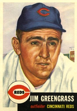 1953 Topps Jim Greengrass #209 Baseball Card