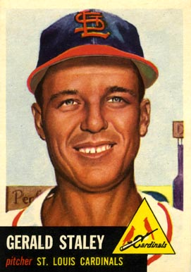 1953 Topps Gerry Staley #56 Baseball Card