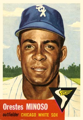 1953 Topps Minnie Minoso #66 Baseball Card