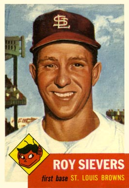 1953 Topps Roy Sievers #67 Baseball Card