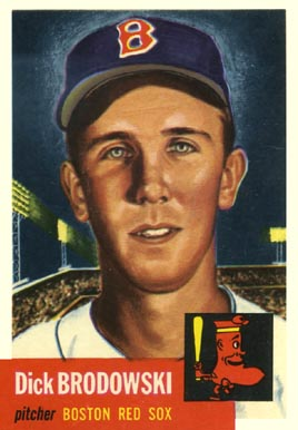 1953 Topps Dick Brodowski #69 Baseball Card