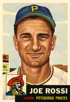 1953 Topps Joe Rossi #74 Baseball Card