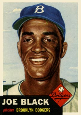 1953 Topps Joe Black #81 Baseball Card