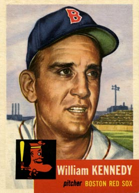 1953 Topps Bill Kennedy #94 Baseball Card