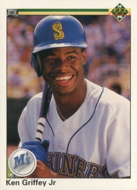 1990 Upper Deck Ken Griffey Jr. #156 Baseball Card