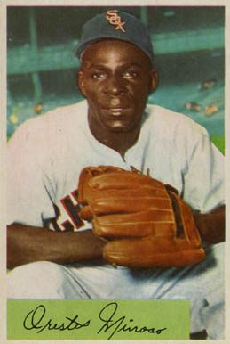 1954 Bowman Minnie Minoso #38 Baseball Card