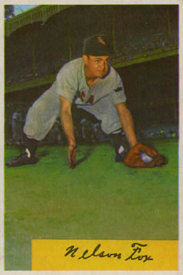 1954 Bowman Nellie Fox #6 Baseball Card