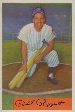 1954 Bowman Phil Rizzuto #1 Baseball Card
