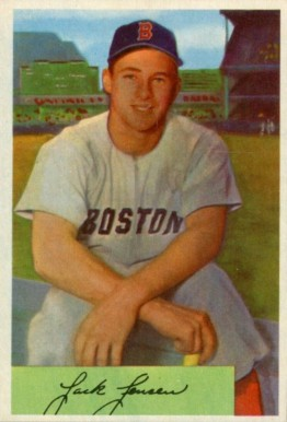 1954 Bowman Jackie Jensen 2 Baseball Card Value Price Guide