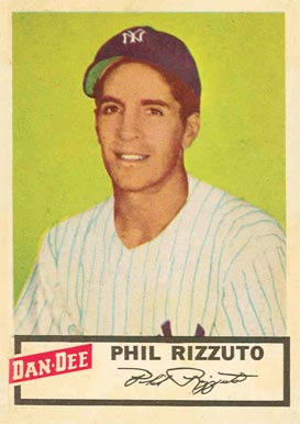 1954 Dan-Dee Potato Chips Phil Rizzuto #19 Baseball Card