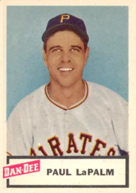 1954 Dan-Dee Potato Chips Paul LaPalme #14 Baseball Card