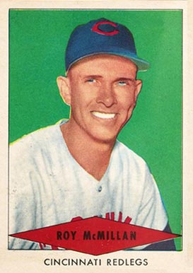 1954 Red Heart Dog Food Roy McMillan #21 Baseball Card