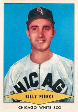 1954 Red Heart Dog Food Billy Pierce #24 Baseball Card