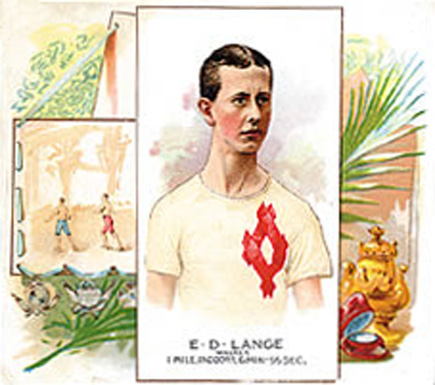 1888 Allen & Ginter E. Lange #28 Boxing & Other Card