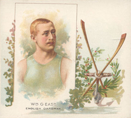 1888 Allen & Ginter William East #14 Boxing & Other Card