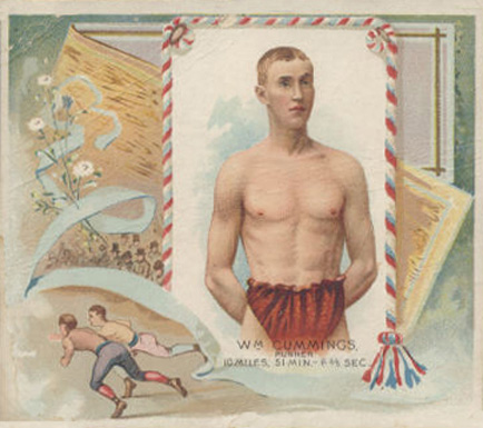 1888 Allen & Ginter William Cummings #10 Boxing & Other Card