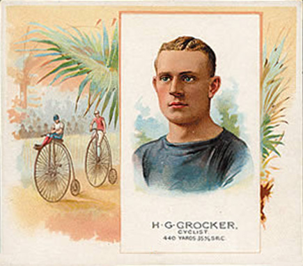 1888 Allen & Ginter H. Crocker #9 Boxing & Other Card