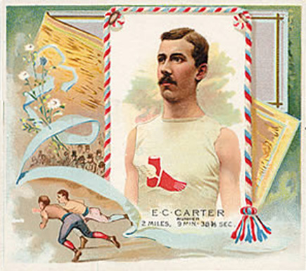 1888 Allen & Ginter E. Carter #6 Boxing & Other Card