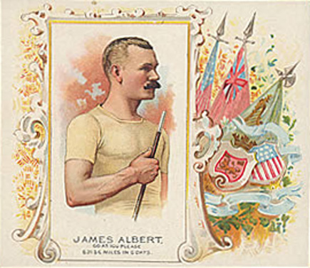 1888 Allen & Ginter James Albert #1 Boxing & Other Card