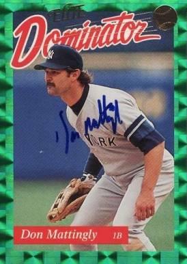Don Mattingly Baseball Cards