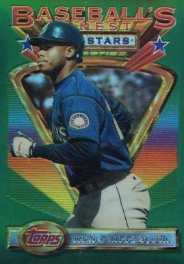 1993 Finest Refractor Ken Griffey Jr. AS #110 Baseball Card