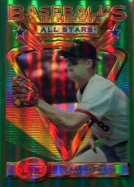 1993 Finest Refractor Cal Ripken All-Star #96 Baseball Card