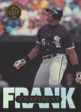 1993 Leaf Frank Thomas Series 1 Baseball Card Set Vcp Price Guide