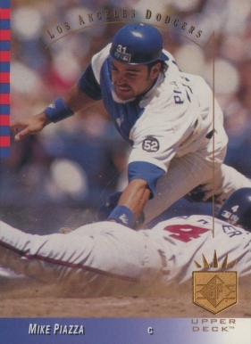 Mike Piazza Hall Of Fame Baseball Cards