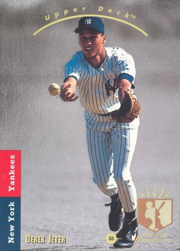 1993 SP Derek Jeter #279 Baseball Card