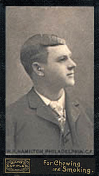1895 Mayo's Cut Plug Billy Hamilton #24 Baseball Card