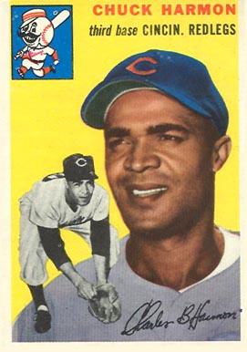 1954 Topps Chuck Harmon #182 Baseball Card