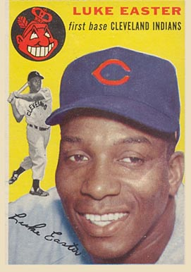1954 Topps Luke Easter #23 Baseball Card