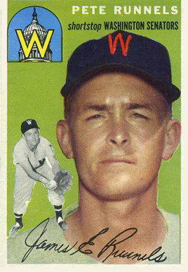 1954 Topps Pete Runnels #6 Baseball Card
