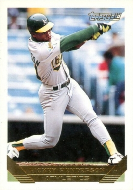 1993 Topps Gold Rickey Henderson 750 Baseball Vcp Price Guide