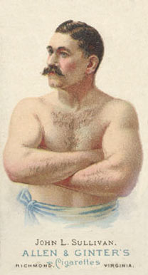 1888 Allen & Ginter John Sullivan #45 Boxing & Other Card