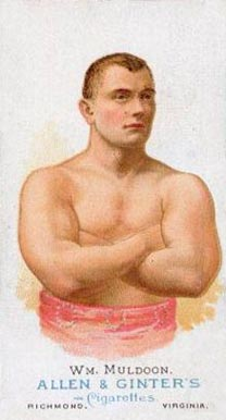 1888 Allen & Ginter William Muldoon #36 Boxing & Other Card