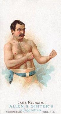 1888 Allen & Ginter Jake Kilrain #28 Boxing & Other Card