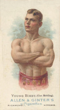 1888 Allen & Ginter Young Bibby #7 Boxing & Other Card