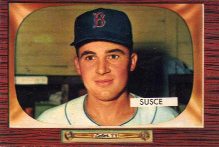1955 Bowman George Susce Jr. #320 Baseball Card