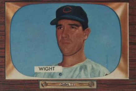 1955 Bowman Bill Wight #312 Baseball Card