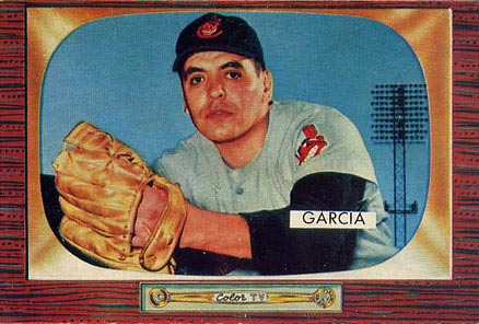 1955 Bowman Mike Garcia #128 Baseball Card