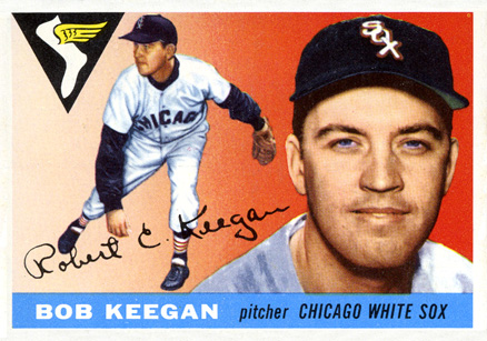1955 Topps Bob Keegan #10 Baseball Card