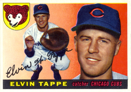 1955 Topps Elvin Tappe #129 Baseball Card