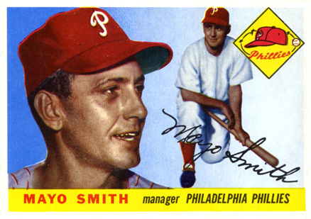 1955 Topps Mayo Smith #130 Baseball Card