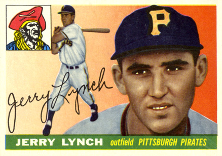 1955 Topps Jerry Lynch #142 Baseball Card