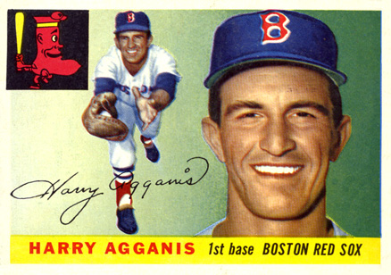 1955 Topps Harry Agganis #152 Baseball Card